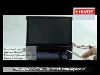 Универсальная, мультимедийная, автомагнитола, штатное, головное устройство, магнитола, нового поколения, KD-8200, 1Din