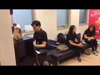 Гастроли в Южной Корее. Переводчик Джин Бинг Хуанг 3