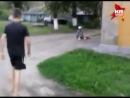 В Нижнем Новгороде 15 летний подонок избил старушку ногами