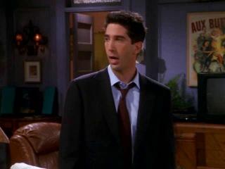 Friends Chandler, Monica and Ross's secret