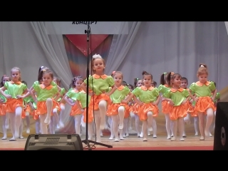 Аришечка. танец Веснушки.