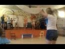 танец девочек 3 отряда Привет,как дела? как погода? азаза