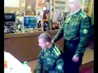 Армейский 'пьяный' беспредел. !!+!! Army 'drunk' lawlessness.