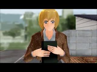 【MMD】Shingeki No Kyojin - Armin can't curse