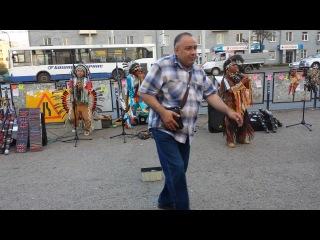 Индейцы в Уфе август 2014 округ Галле