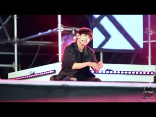 [FANCAM] 140823 BTS - Boy In Luv (V focus) @ SBS MTV Sharing Concert