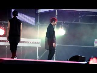 [FANCAM] 140823 BTS - Boy In Luv (Suga focus) @ SBS MTV Sharing Concert