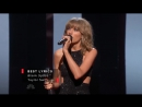 Taylor Swift and Justin Timberlake: iHeart Radio Music Awards 2015. Best Lyrics: «Blank Space»