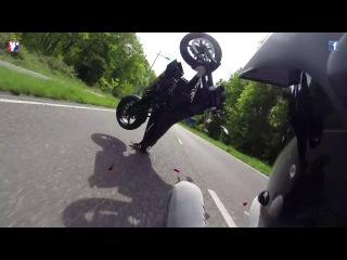 BIG Crash - KTM 690 Duke
