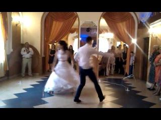 Постановка першого весільного танцю Тані та Андрія Панчишин від Dance studio ARIES