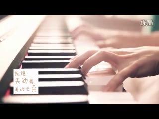 超正美国女生翻唱中文歌【小苹果】by金小鱼 American girl cover【Little apple】
