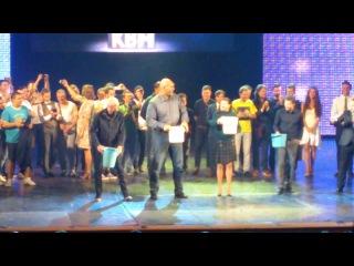 Ice bucket challenge от Валуева, Зырянова,Радимова,Мельниковой и Сантёра
