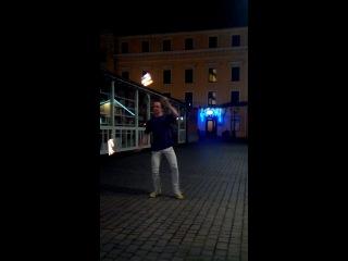 Волшебный танец с огнем Александра Феникса