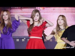 140921 K-POP EXPO  SNSD -TTS - Holler (focus Tiffany)