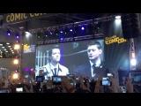 Видео-открытие выступления Миши Коллинза Комик Кон 5.10.14