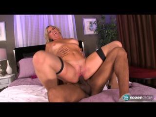 ScoreHD: Angela Harley - Fuck That Big, Black Cock, White Girl  (mature, MILF, BBW, мамки - порно со зрелыми женщинами)
