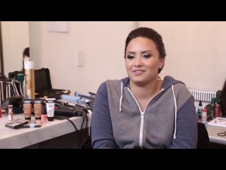 Demi Lovato's Photo Shoot For NYC New York Color Cosmetics #Beauty