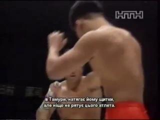 Бой Такада и Tamura Бушидо (Nabuhiko Takada vs Kiyoshi Tamura)