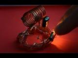 Free energy generator tested on light bulb. Даровая Бесконечная энергия