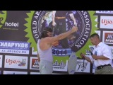 Silver Bullet на 4-м Чемпионате Мира по армлифтингу 6-7 сентября 2014г