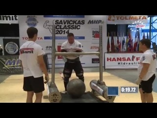 Strongman Champions League Литва Savickas Classic 4 5 10 2014