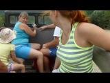 Немного позитива))) Наша дорога к водопадам))) Музыкальное сопровождение - Никита Апанасик