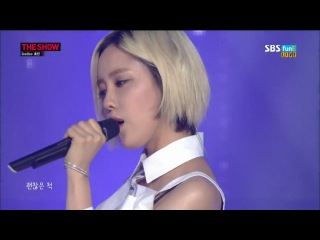 [PERF] 140812 Hyomin - Fake It @ MTV The Show HD