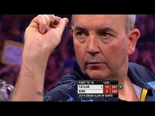 Phil Taylor vs Mervyn King (Grand Slam of Darts 2014 / Semi Final)