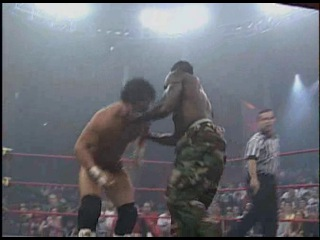 2004. B.G. James and Ron Killings (c) vs Eric Young and Bobby Roode for the NWA World Tag Team Championship на Turning Point