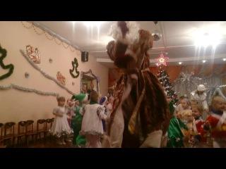 Танец деда мороза (елка) 47 я/сад