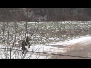 Пожарный биатлон. Видео пресслужбы Лен области.