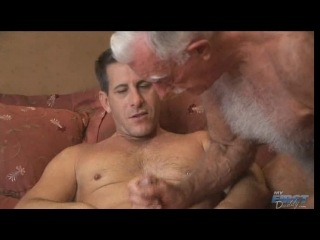 Two gay men cum in hotel
