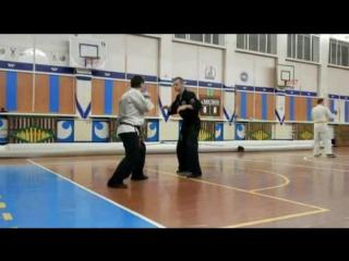 ,,ДоМо-контакт каратэ,, защита от прямого удара в голову-2.