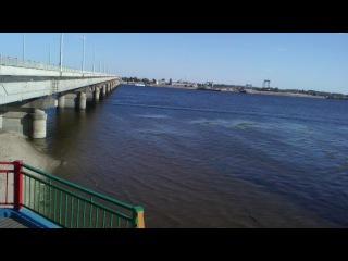 2014. Поход на пляж Саратов - Энгельс.№1