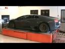 Сумасшедшая Lamborghini Murcielago вся жара с 19 сек