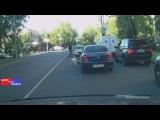 В Москве Водитель BMW в ответ на замечание хладнокровно сбил пожилого мужчину