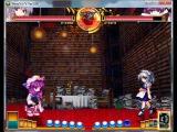 Didi Sempai plays - Sakyua VS Patchouli [Touhou 10.5 - Scarlet Weather Rhapsody]