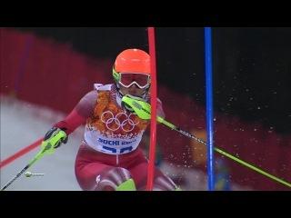 XXII зимние Олимпийские игры Сочи Горнолыжный спорт Женщины Слалом HD → Вторая попытка