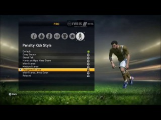 FIFA 15 Pro Clubs Closed Beta: Free Kick Style, Penalty Kick Style, Celebrations