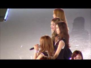 [Fancam] 140810 KCON2014 - SNSD Talk2 Into The New World acapella ver