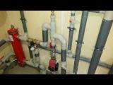 Обвязка двух напольных котлов Baxi Slim с бойлером косвенного нагрева санитарной воды SLME 400L