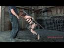 BDSM видео ролик с милой рыженькой тварью