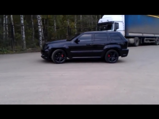 Звук выхлопа jeep grand cherokee srt8 exhaust_hd
