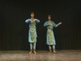 Mohit on tabla with Kathak Dance