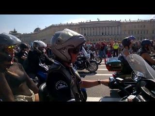 Harley Days 2014 мотопарад