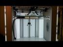 Первый тест новой модели 3D принтера Ultimaker-2