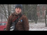 Андрей гоняет на квадрике Новоселицы Дек. 2014г.
