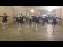 зачет по танцу студентов 1 курса АТЛ