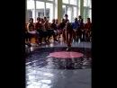 """Девочка гимнастака. """" Мисс Лагерь 2014 """" Город Мозырь. 9 школа."""