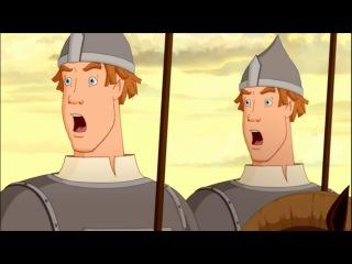 Нарезка из мультфильма иван царевич и серый волк от Александра
